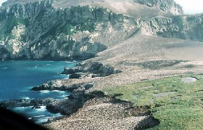 ハード島とマクドナルド諸島付近